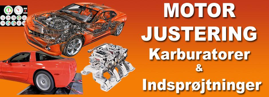 Motorjustering og reparation Amerikanske biler og trucks